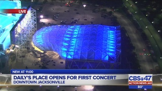 Opening night for Jacksonville