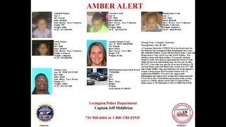 Images: Tennessee Amber Alert for mom, four kids
