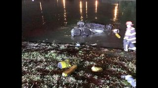 Boca woman who died in crash into lake ID