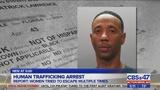 Human trafficking arrest