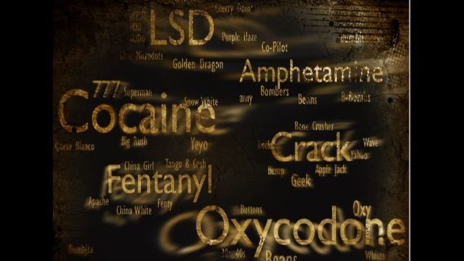 Drug slang words