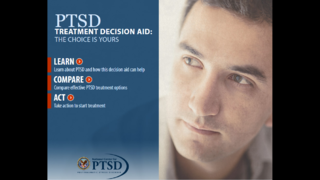 Veteran Affairs launches site to aid PTSD treatment options