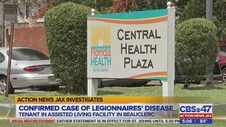 Action News Jax Investigates: Confirmed case of Legionnaires