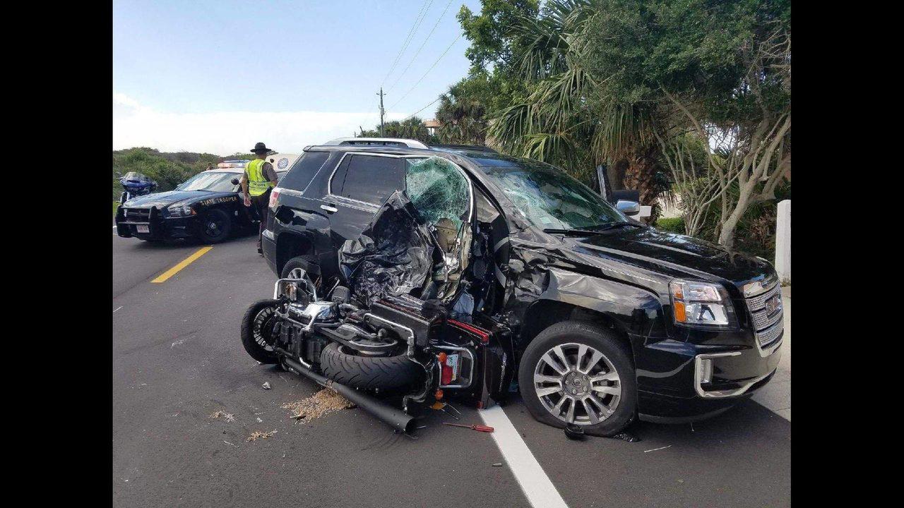 Photos: Motorcycle, car crash in Ponte Vedra | WFOX-TV