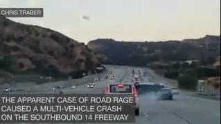 Caught on camera: California road rage