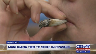 Marijuana tied to spike in car crashes