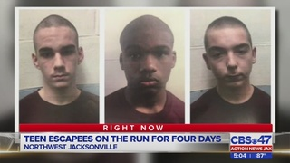 Teen escapees on the run for four days