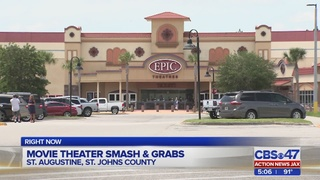 Movie theater smash and grab robberies