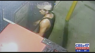 Suspected serial car wash burglar strikes again