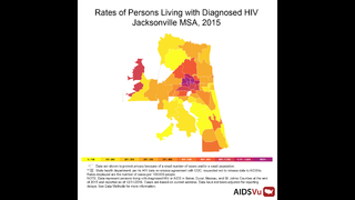 Jacksonville part of top ten cities with most new HIV cases