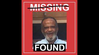 Missing elderly man found