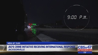 JSO crime initiative receiving international response