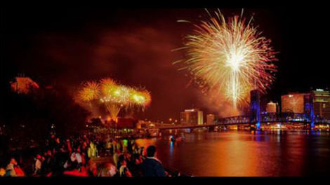 JACKSONVILLE FIREWORKS: Where to watch fireworks in