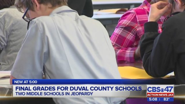 Report: Two Duval County middle schools facing charter change receive 'D'  grades | WJAX-TV
