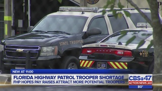 Florida Highway Patrol said it needs 162 officers statewide to be fully staffed