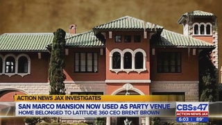 Jacksonville mansion where Latitude 360 CEO lived cited for illegal events