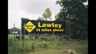 Lawtey looking to get rid of its speed-trap reputation