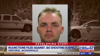 Injunctions filed against JSO shooting suspect