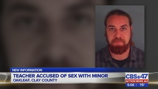 Clay County high school teacher charged with having sex with minor