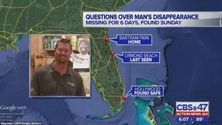 Police: Missing Jacksonville man took himself to South Florida hospital