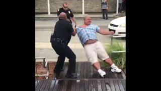 Jacksonville Beach police use 3 Tasers, baton, 4 handcuffs to arrest bar…