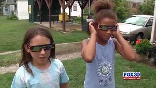 Action News Jax Total Solar Eclipse viewing glasses giveaway