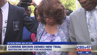 Corrine Brown fraud trial: Judge denies motions for acquittal, new trial