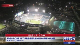 Jacksonville Jaguars fall to the Tampa Bay Buccaneers 12-8 in preseason…