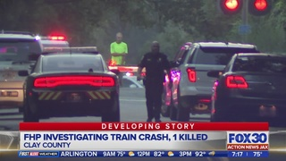 FHP: 1 dead in crash involving vehicle, train in Green Cove Springs