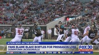 Jaguars quarterback controversy after second preseason game