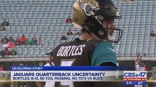 Jaguars quarterback controversy after second preseason game