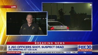 2 Jacksonville officers shot with high-powered rifle while responding to…