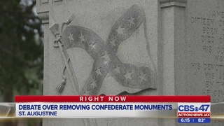 Debate over removing confederate monuments