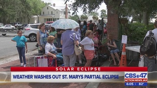 Weather washes out partial eclipse in St. Marys