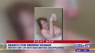 Friends say 69-year-old Jacksonville woman disappeared after meeting man