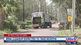 Cleanup will takes months in Clay County after Irma