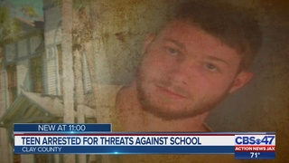 Teen arrested for threats against school