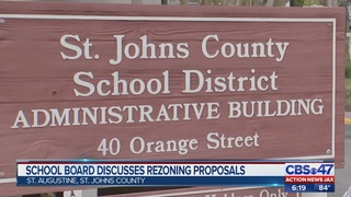 School board discusses rezoning proposals in St. Johns County
