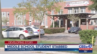 Student detained after stabbing at Jacksonville middle school