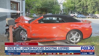 Vernell Bing Jr., Officer-involved shooting justified