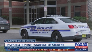 Investigation into stabbing of student in Duval County