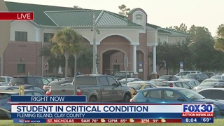 Student collapsed at Fleming Island High School in critical condition