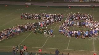 Fleming Island High School students honor local athlete