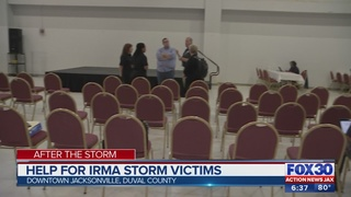 Help for Irma storm victims