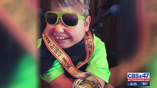 Yulee boy with brain injury to race in marathon with dad