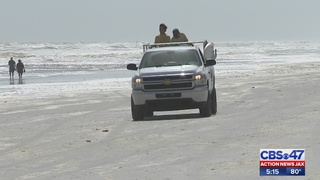 Naked swimmer arrested on Jacksonville Beach