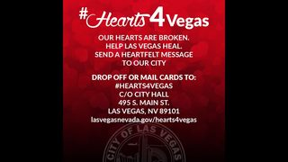 Hearts4Vegas: Las Vegas requesting cards in the wake of mass shooting