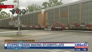 Action News Jax Investigates: CSX trains making Baldwin students late for school