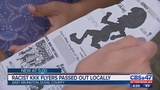 Racist KKK flyers passed out locally