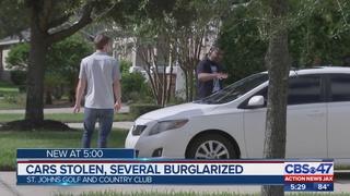 Deputies investigating string of car burglaries, thefts in St. Johns…
